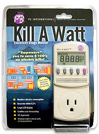 Kill-A-Watt Meters are Here and ready for Circulation!