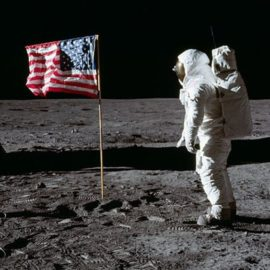 First Steps: Humans Walking on the Moon